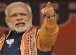 """पीएम मोदी ने कहा मेरी माँ को राजनीती का """"R"""" तक मालूम नहीं और मेरी माँ को कांग्रेस गाली दे रही है"""